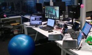 work-place-test-in-progress